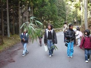 保津峡から水尾まで歩け!歩け!