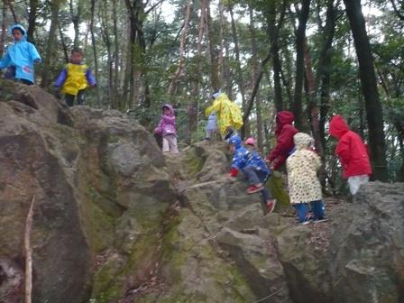 そんごくうの岩を発見